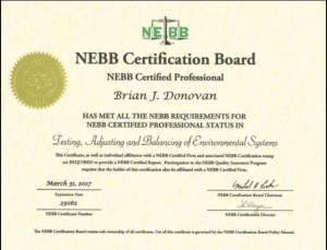 Hình ảnh tiêu chuẩn NEBB