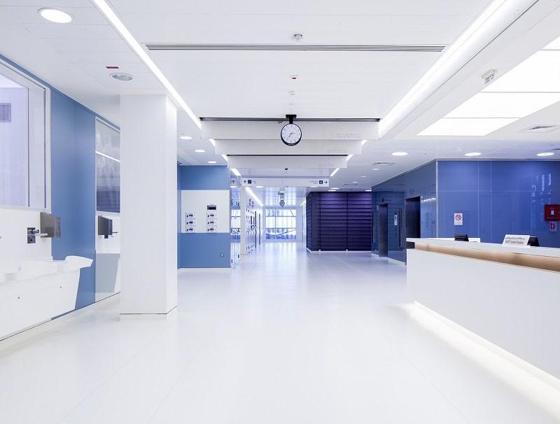 Sàn phòng sạch bệnh viện