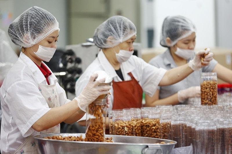 Sản xuất thực phẩm