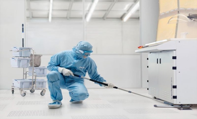 Bảo dưỡng vệ sinh phòng sạch
